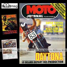 MOTO JOURNAL N°402 TRIAL ULF KARLSON SUZUKI GS 1000 FANTIC 125 RC DAYTONA 1979
