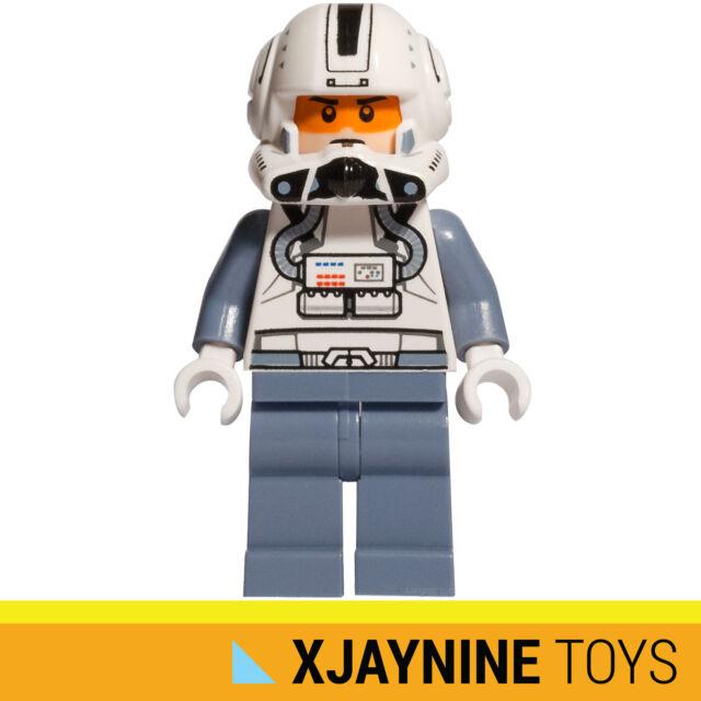 GENUINE LEGO STAR CLONE WARS Clone Trooper ARC-170 Fighter Pilot Minifig