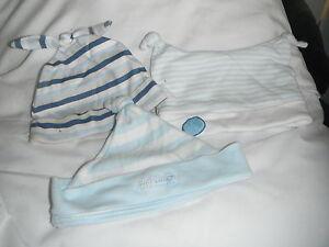 3 Bébé Chapeaux 6-12 Mois-afficher Le Titre D'origine Faire Sentir à La Facilité Et éNergique