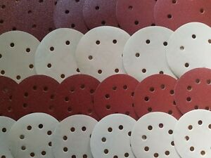 KLINGSPOR-Sanding-Discs-Sandpaper-125mm-amp-150mm-5-039-039-6-039-039-Orbital-Sanders-Vecro