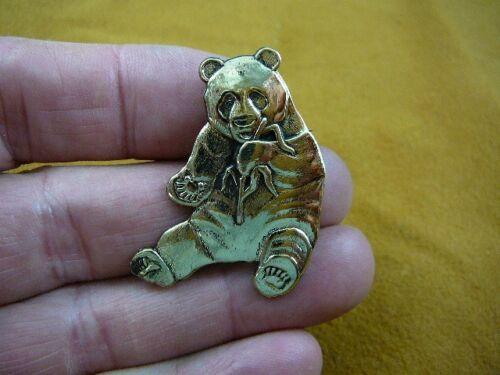 Panda BEAR pin pendant Love pandas cute bears Jewelry melanoleuca B-BEAR-102
