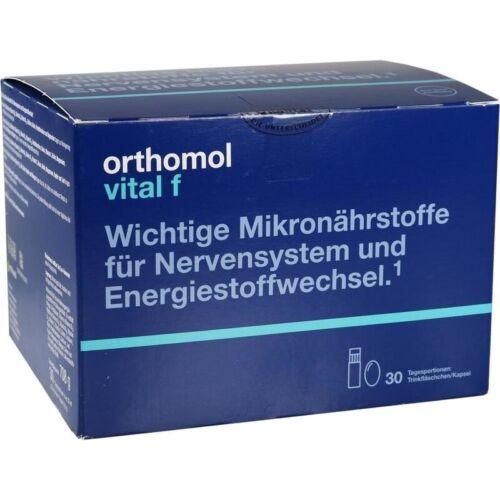 Orthomol Vitale F Borracce 30 Pz PZN1319689