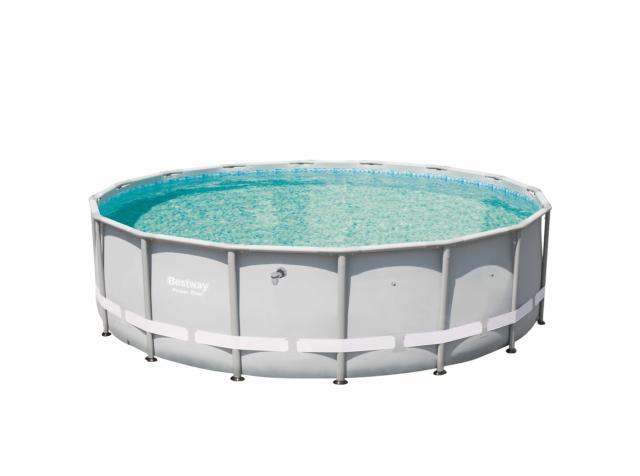 Bestway 13429 Power Steel Swimming Pool 16 ft. x 48in