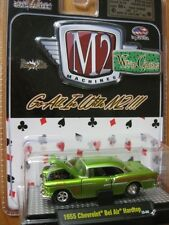 `55 Chevrolet Bel Air  Race Car Green-metallic 1955 **M2 Machines 1:64 OVP