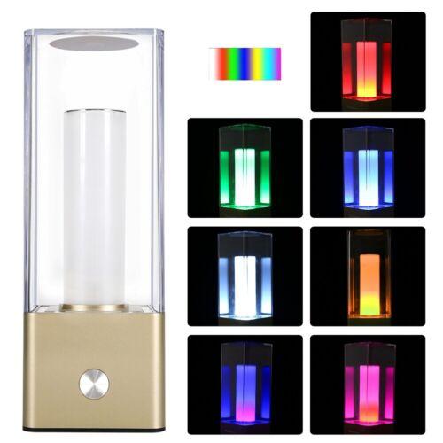 Touchlampe LED Schreibtischlampe Nachtlicht Leselampe RGB Leseleuchte Dimmbar