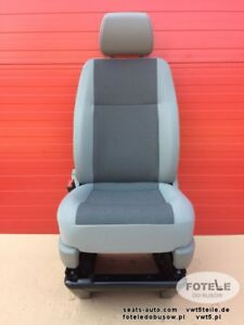 Details About Seat Vw T5 Front Passenger Austin Grey Facelift With Base