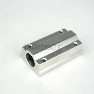 SCS8LUU-8mm-Long-Linear-Slide-Unites-Bushing-Block-Ball-Bearing-Motion-CNC