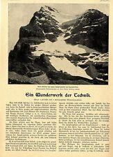 Die neue Jungfraubahn am Eigergletscher Wunderwerk der Technik Bild-Report 1900