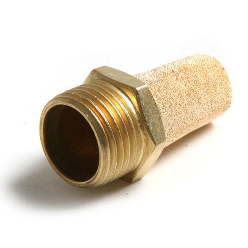 10Pcs 1//4 Pulgada Válvula De Solenoide ruido de filtro neumático SILENCIADOR SILENCIADOR Conector
