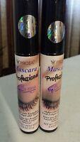 2 Pack Prosa Mascara Profesional 4 In 1 Eyelashes Longer And Thicker Full Size.