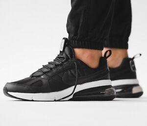 sports shoes 86128 e1f84 Image is loading New-NIKE-Air-Max-270-Futura-Mens-black-