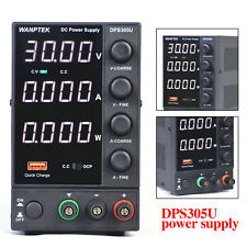 Dc Bench Power Supply Variable 0 30v 0 5a Adjustable Switching Regulated 150w Us