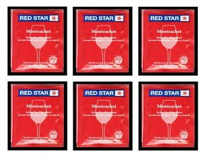 WINE-YEAST-6-PACK-RS-MONTRACHET-FOR-REDS-DARK-BERRIES-MUSCADINES-GRAPES-RED-STAR
