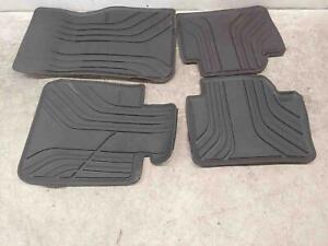 2012 2018 Bmw 328i Oem Rubber Floor Mat Set Front And Rear Ebay