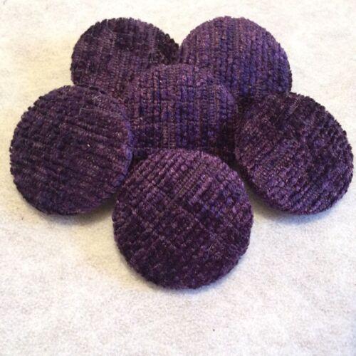 16 mm 31 mm 20 mm moyennes et grandes 25 mm Violet Chenille Boutons petites