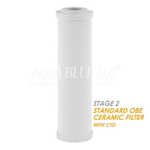 3 Stage   Undersink Filter set   Ceramic Carbon Sediment Free ship AU
