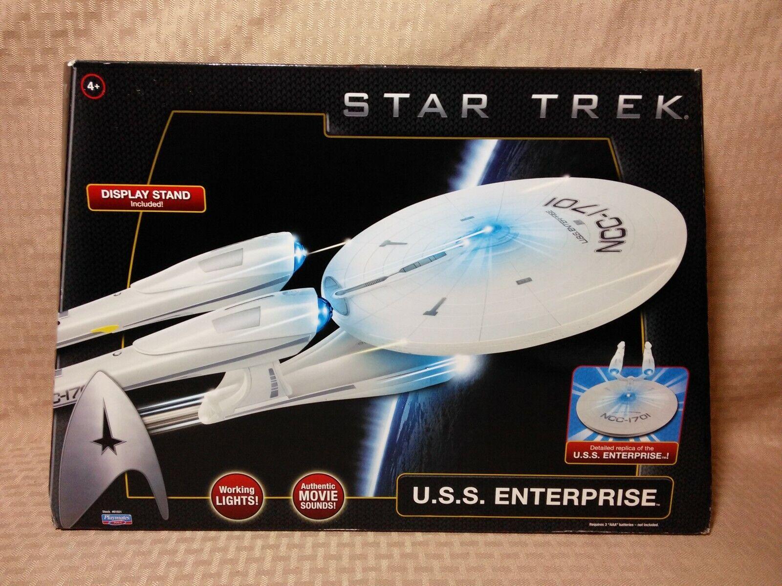 Playmates estrella Trek USS Enterprise NCC-1701 Electronic Light  & suono 2009  risparmiare fino all'80%