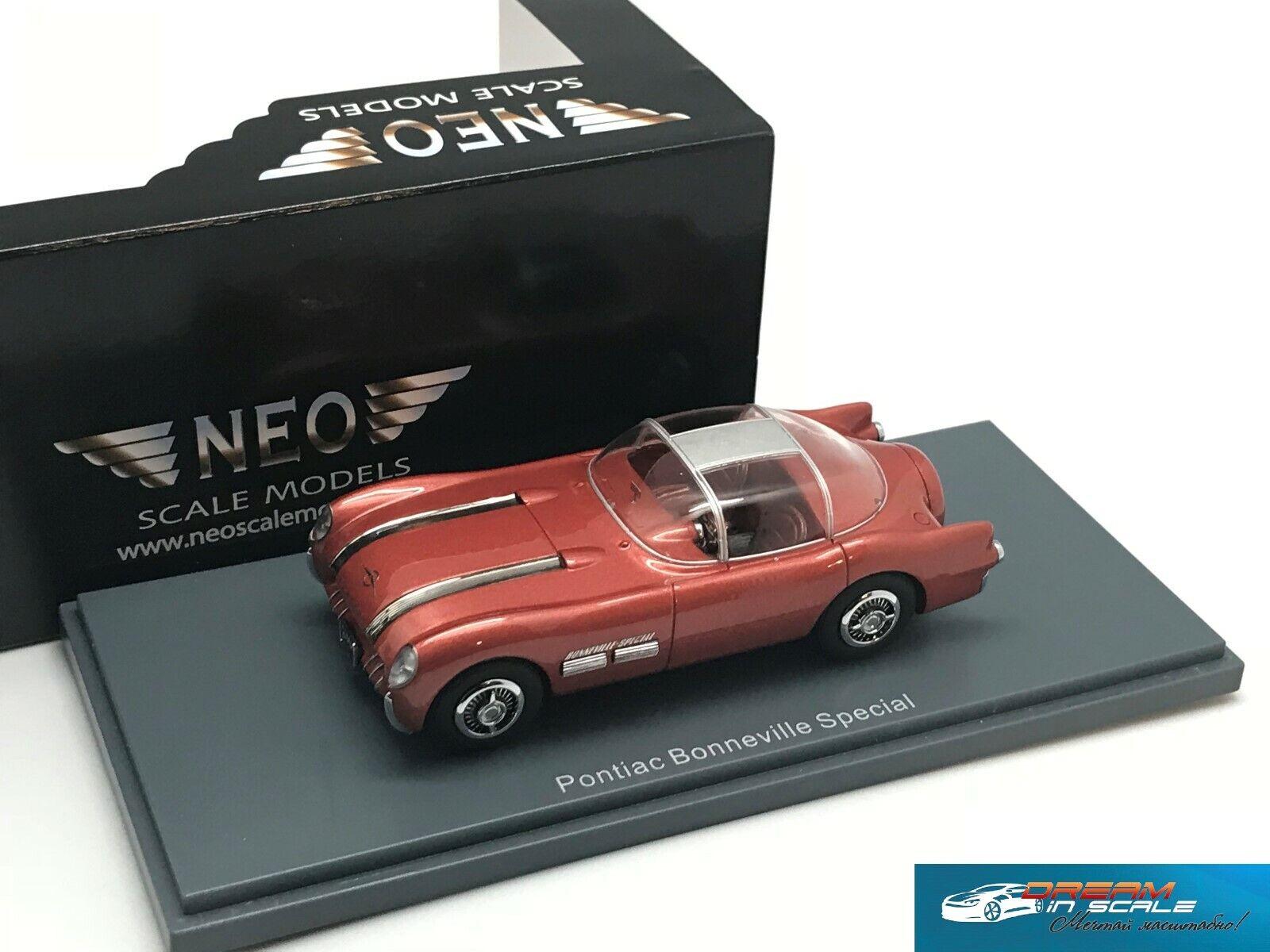 Pontiac Bonneville särskild Dreambil 1954 NEO44825 1 43