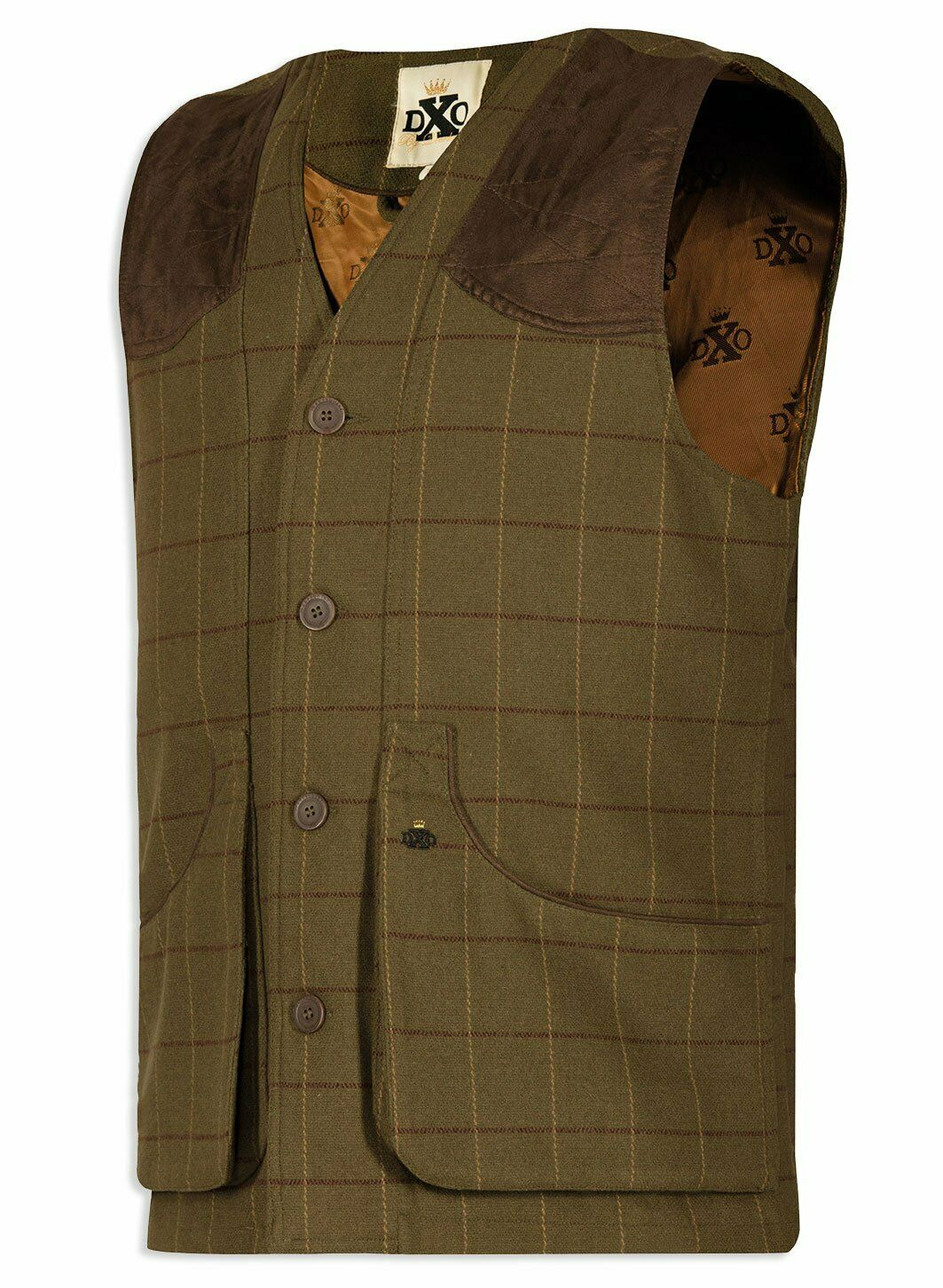 Deerhunter Woodland Waistcoat Mosstone Tweed Gilet Hunting Shooting