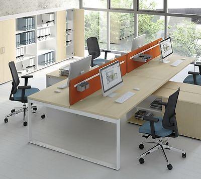 Schreibtisch Mit Sideboard Ogi_q Für 2 Personen Teamarbeitsplatz Büromöbel Schreibtische & Computermöbel Möbel & Wohnen