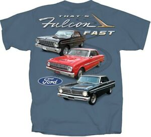 Ford-Falcon-SLATE-BLUE-Adult-T-Shirt