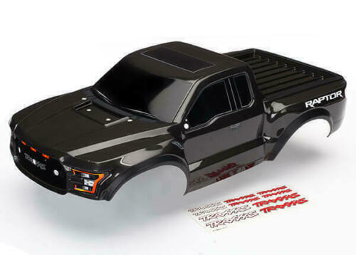 Traxxas Part 5826A BlackEdition Ford Raptor Painted Slash Body New in Package