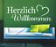 X4458-Wandtattoo-Spruch-Herzlich-Willkommen-Sticker-Wandaufkleber-Aufkleber Indexbild 2
