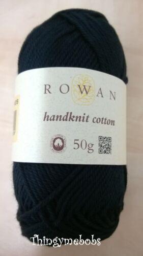 100/% Algodón 50g Bolas Rowan Tejido A Mano Algodón dk//double Knit wool//yarn