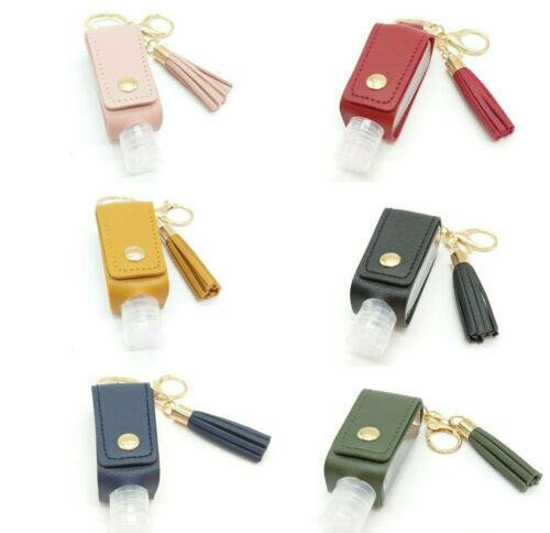 Details about  /Offer 2x1 Keychain Portagel Of Synthetic Leather Carry Gel Set Gift Boats Gel