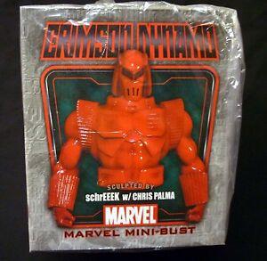 Bowen-Crimson-Dynamo-Iron-Man-Marvel-Comics-Bust-Statue-New-from-2008-Sealed