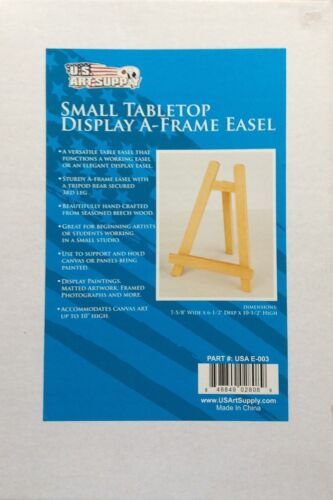 us art supply carmel small tabletop display a frame easel painting