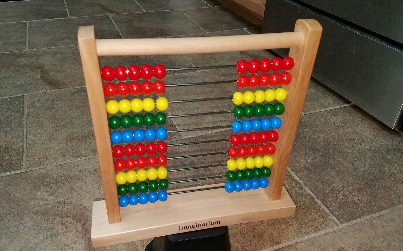 Imaginarium Abacus Homeschool Math Math Math Educational Learning Toy Classic Counting c6eec3