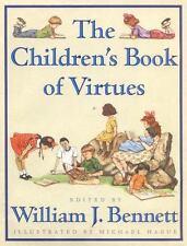 Children's Book of Virtues by William J. Bennett (1995, Hardcover)