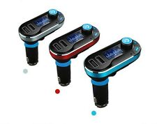 Bluetooth Wireless FM Car Transmitter Phone SD MP3 USB Drive Charger Hands-Free