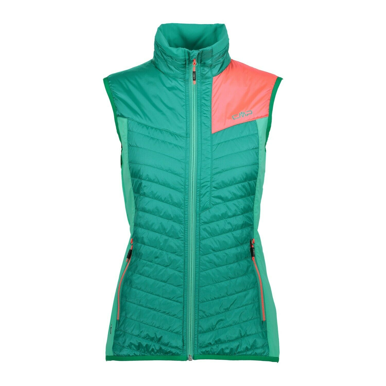 CMP Vest Vest Woman Vest Green Showerproof Breathable Lightweight   discount low price