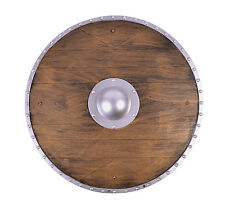 Warrior Shield Accessory for Viking Nordic Medieval Fancy Dress
