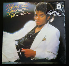 MICHAEL JACKSON THRILLER SEALED LP 1st PRESSING NO mj credit W Hype STICKER