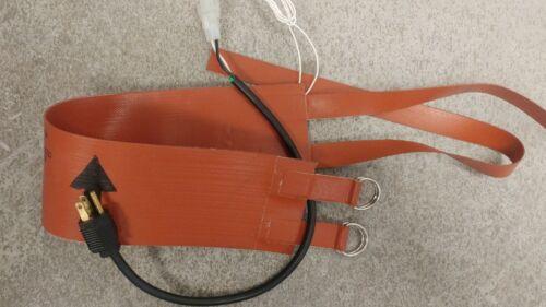 Tempco 200W Electronic Refrigerant Tank Heater Warmer Belt Blanket