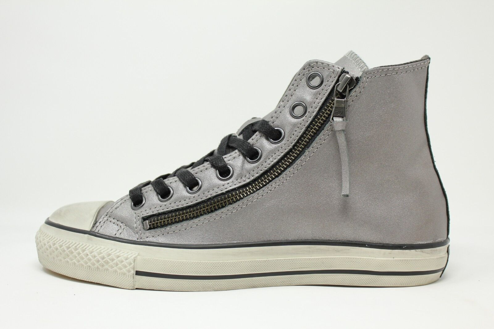 Converse CT Brush Double Zip John Varvatos     147377C Silber Men 7 - 13 55% OFF f28ad1
