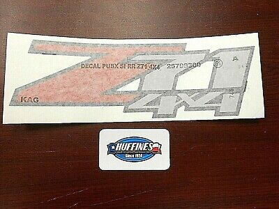 New OEM Pickup Bed Side Decal 15139040 Z71 - 2004-2012 Chevrolet Colorado