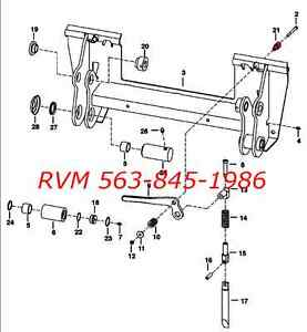 bobcat loader parts diagram bobcat bobtach handle stud 6702958 fits 751 753 763 773 ... bobcat 773 parts diagram seat