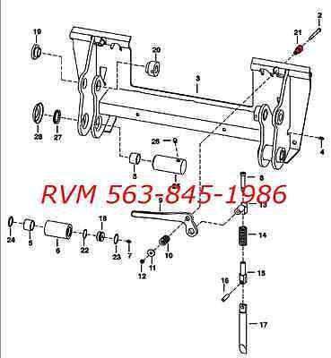 details about bobcat bobtach handle stud 6702958 fits t110 t140 t180 t190  t200 t250 t300 t320