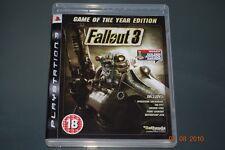 Fallout 3 Juego del Año Edición PS3 Playstation 3 ** GRATIS UK FRANQUEO **