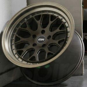 Esr Cs1 Matte Graphite Wheels 18x8 5 30 18x9 5 35 5x114 3 18 Inch Rims Set 4 Ebay