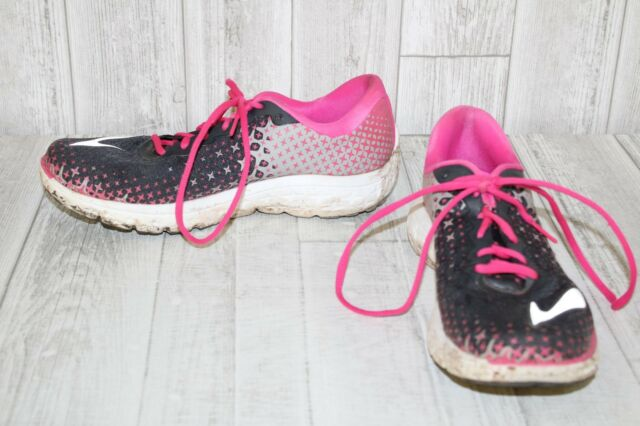 2ad34614bd9 Brooks Womens PureFlow 5 Running Shoes Size 11 Anthracite Pink Glow ...
