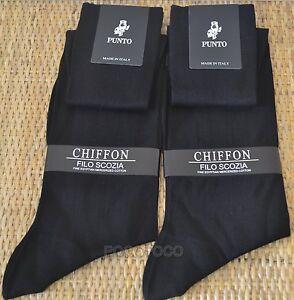 2-Pairs-Socks-Long-Man-Lisle-Point-Mod-Chiffon