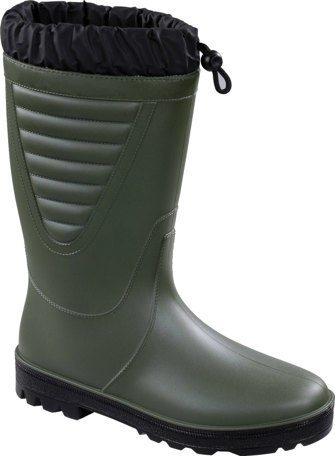 Delta Plus Panoply Mornas Green Fur Lined Cold Work Wellington Boot Wellies