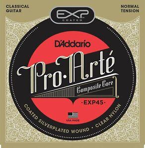 D-039-Addario-EXP45-Pro-Arte-Coated-Normal-Tension-Classical-Guitar-Strings