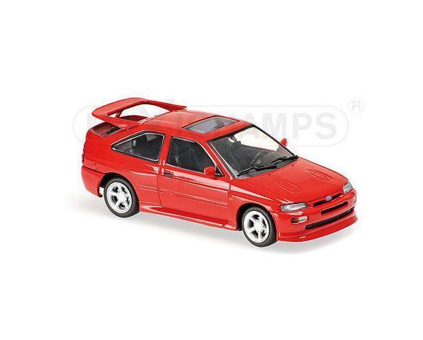 FORD ESCORT COSWORTH COSWORTH COSWORTH - 1992- RED 940082100 Maxichamps Minichamp1 43 New in a box 236129