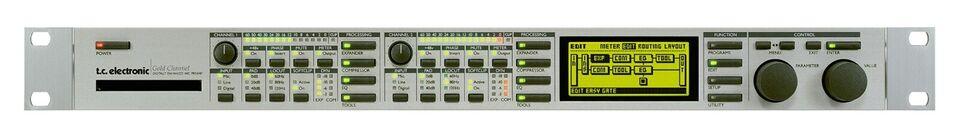 Mic Amp., Tc electronics Gold Channel